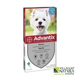 Advantix Spot-on per Cani da 4 a 10 Kg - 4 pipette x 1,0 ml SPED.GRATIS