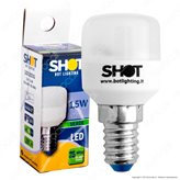 Bot Lighting Shot Lampadina LED E14 1,5W Tubolare per Frigoriferi