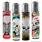 Clipper Large Fantasia Skulls Kill - 4 Accendini