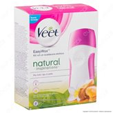 Veet EasyWax Kit Roll-On Natural Inspirations - Scaldacera Elettrico