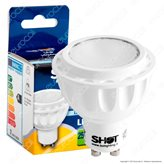 Bot Lighting Shot Lampadina LED GU10 7W Faretto Spotlight - Colore : Bianco Caldo
