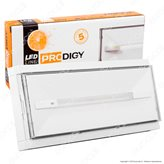 Linergy PR08F13EBI 8W Lampada d'Emergenza Anti Black Out 10 LED
