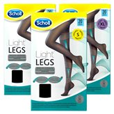 Scholl Collant Light Legs - Nero 20 Denari - Taglia : L - Large