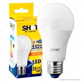 Bot Lighting Shot Lampadina LED E27 14W Bulb A60 - Colore : Bianco Naturale