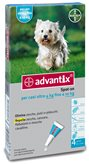 Advantix spot on*4pip 1ml 4-10 kg