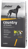 Crocchette per cani Golosi country all breeds 12 Kg