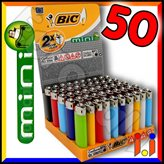 Bic Mini J25 Piccolo Colori Assortiti - Box da 50 Accendini