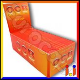 Cartine Ocb Orange Corte - Scatola da 50 Libretti