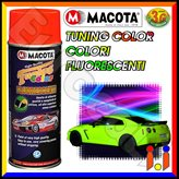 Vernice Spray Macota Tuning Color - Colori Fluorescenti - Tinta : 1026 - Giallo Fluorescente