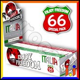 Cartine Enjoy Freedom Small Size Corte Italia - Scatola da 50 Libretti