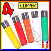 Clipper Large Fantasia Solid - 4 Accendini
