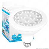 SkyLighting Lampadina LED E27 18W Bulb Par Lamp PAR38 - Colore : Bianco Naturale