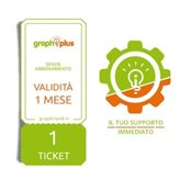 Graphiplus - Ticket Singolo di Supporto