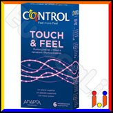 Control Touch & Feel - 6 Preservativi