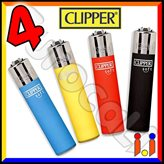 Clipper Large Fantasia Soft Touch 3 - 4 Accendini