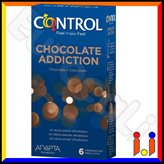 Preservativi Control Chocolate Addiction - Scatola da 6 Profilattici