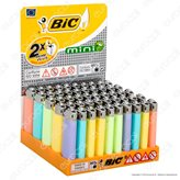 Bic Mini J25 Colori Pastello - Box da 50 Accendini